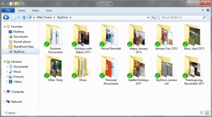 Windows 8 - cartelle SkyDrive
