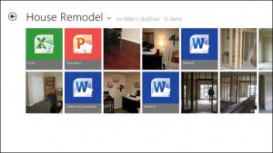 Windows 8 - App Metro SkyDrive