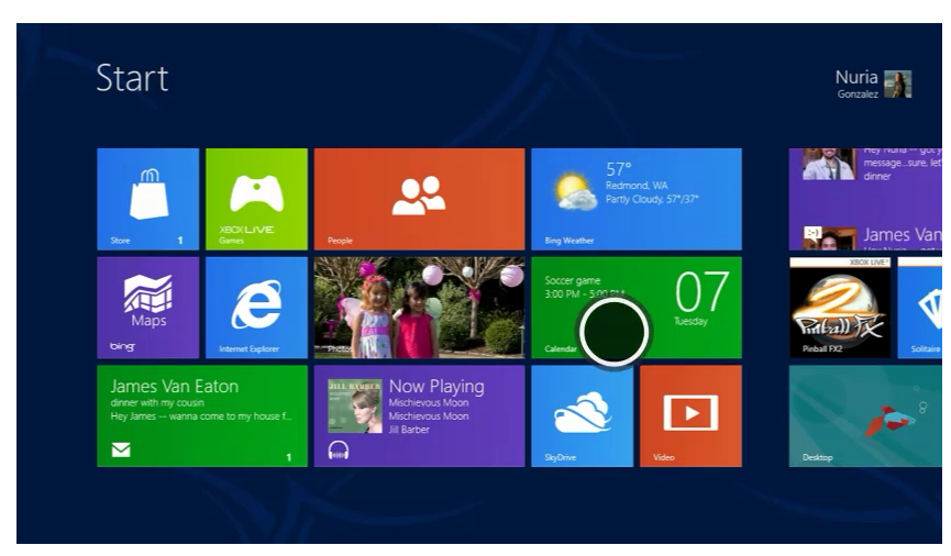 Windows 8 Consumer Preview Screenshot