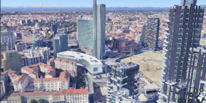 Milano in Google Maps 3D