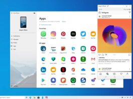 App android funziona su windows
